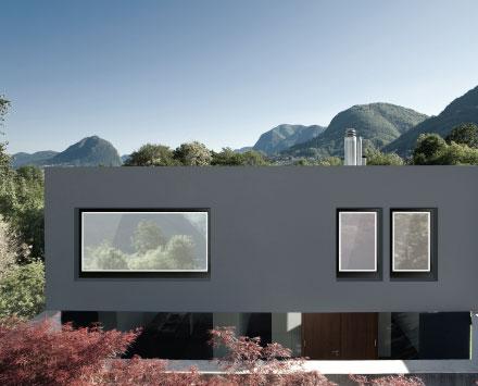 Finestra in legno e alluminio GLASS