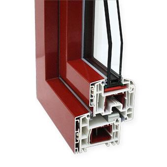 Finestra in PVC modello C70A