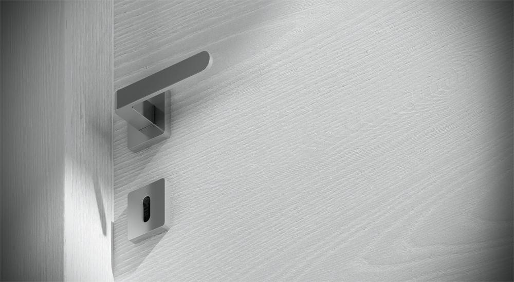 Legno Bianco Frassinato : Porta in legno bianco ice on barausse porte e scale porte a