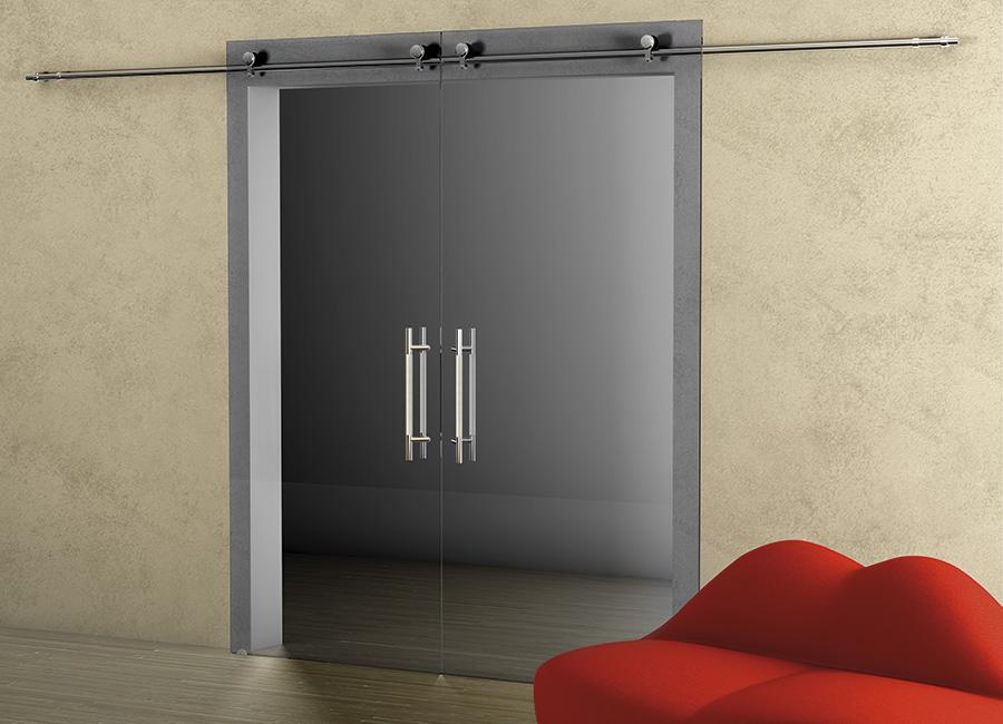 Ardesia - Porta vetro decorata con lino