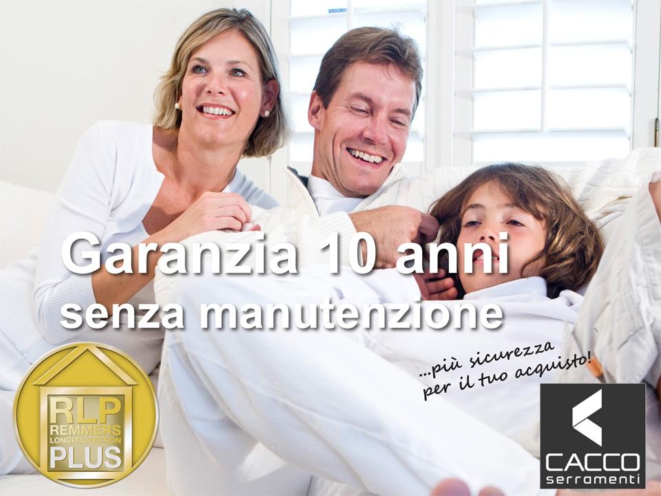 CACCO Serramenti - garanzia vernice 10 anni