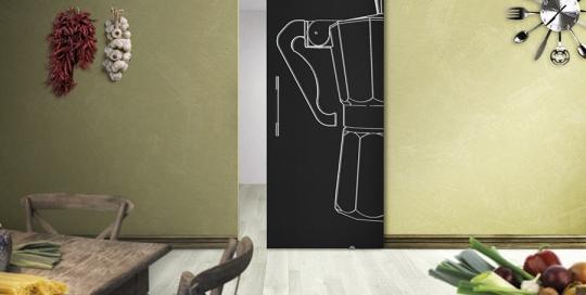 Cuccumella - Porta vetro con incisone